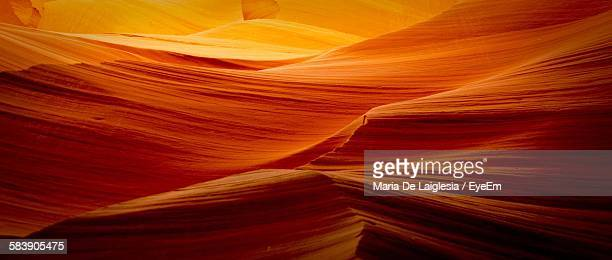 scenic view of antelope canyon - sandstone stock pictures, royalty-free photos & images