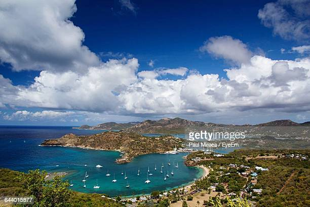 Scenic View Of Antigua Island
