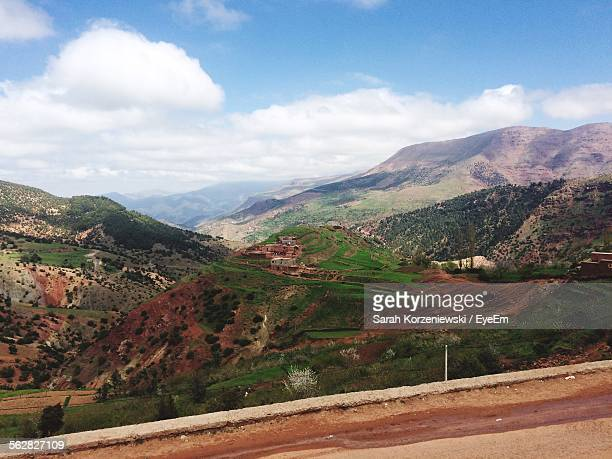 Scenic View Of Atlas Mountains