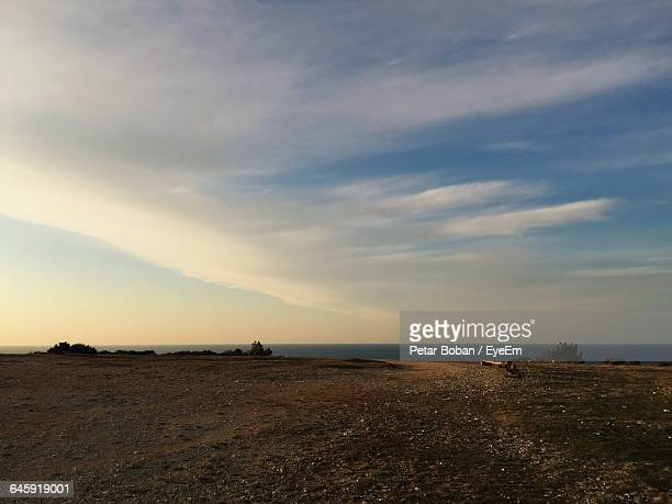 scenic view of beach against sky - boban stock pictures, royalty-free photos & images