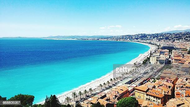 Scenic View Of Beach In Nice, France