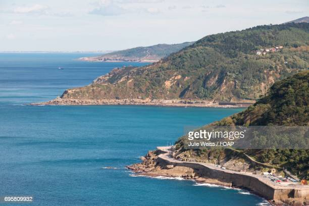Scenic view of beach in Spain