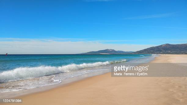 scenic view of beach - rocky coastline stock pictures, royalty-free photos & images