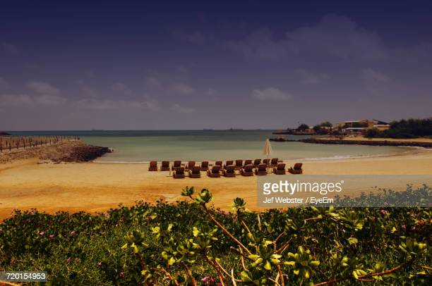 scenic view of beach - djibouti stock pictures, royalty-free photos & images