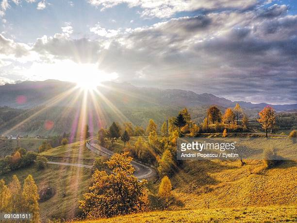 Scenic View Of Bucegi Mountains During Sunrise