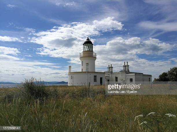scenic view of chanonry lighthouse - lucinda lee stock pictures, royalty-free photos & images