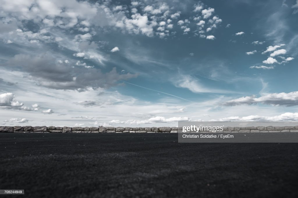 Scenic View Of City Against Sky : Stock Photo