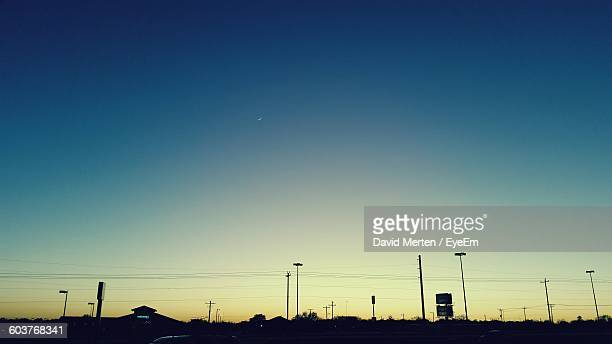 Scenic View Of Clear Blue Sky