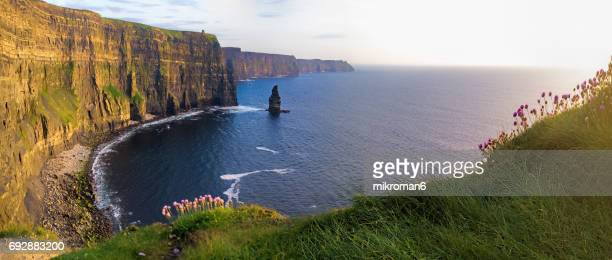 Scenic View Of Cliffs Of Moher, Ireland
