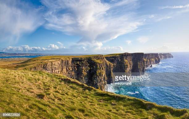 Scenic View Of Cliffs Of Moher, Liscannor, Co. Clare, Ireland