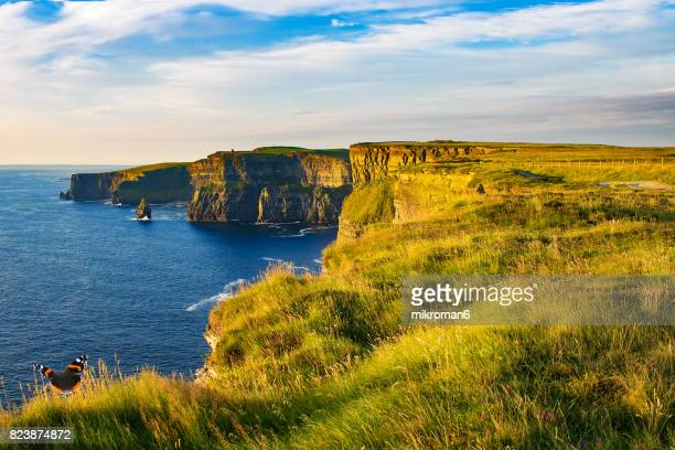 Scenic View Of Cliffs Of Moher, Liscannor, Ireland