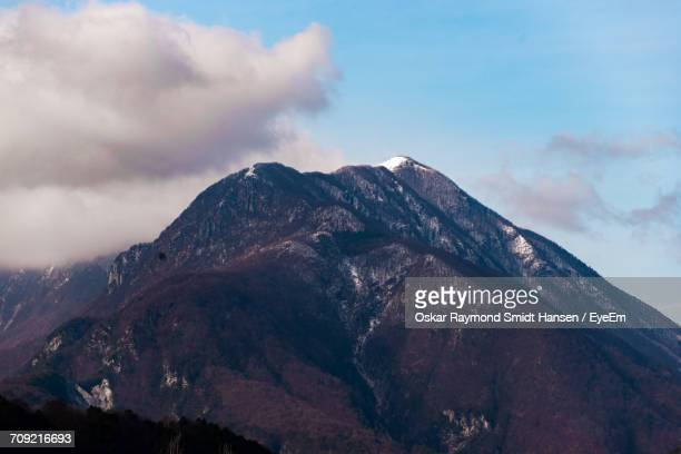 scenic view of clouds over mountain - oskar stock pictures, royalty-free photos & images