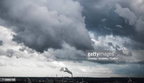Scenic View Of Cloudscape Against Cloudy Sky