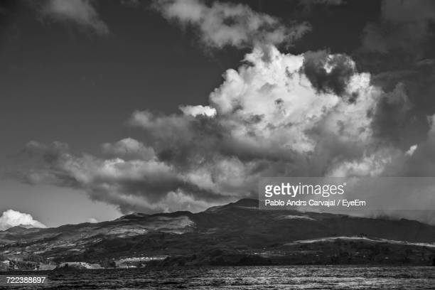 scenic view of cloudscape against sky - carvajal stock photos and pictures