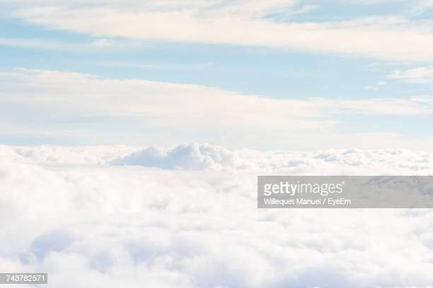 scenic view of cloudscape against sky - heaven stock pictures, royalty-free photos & images