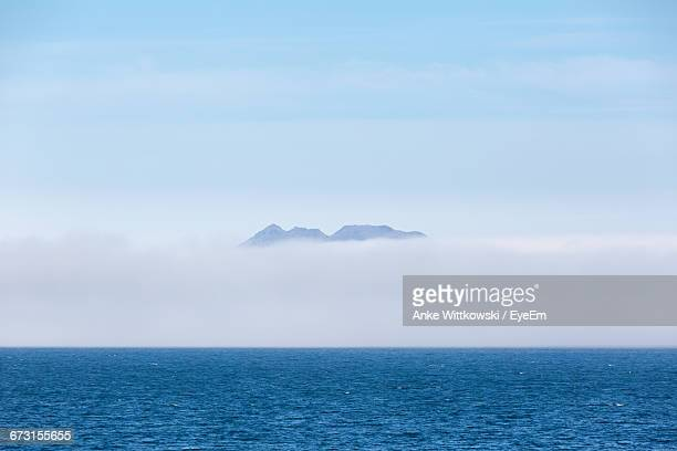 Scenic View Of Cloudscape By Sea Against Sky