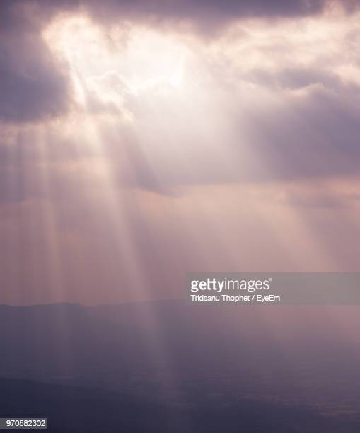 scenic view of cloudscape during sunset - elysium stock pictures, royalty-free photos & images