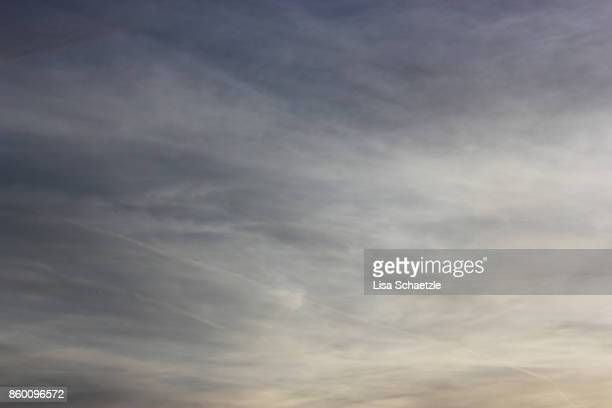 scenic view of cloudscape - overcast stock pictures, royalty-free photos & images