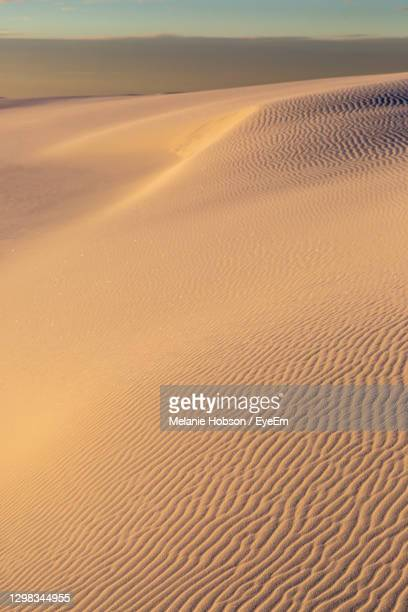 scenic view of desert against sky - chihuahua desert stock pictures, royalty-free photos & images