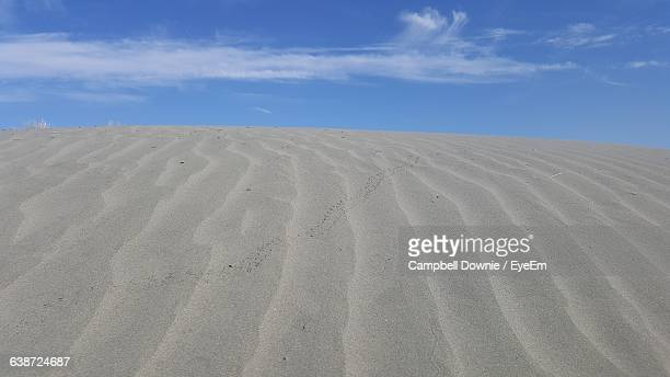 scenic view of desert against sky - campbell downie stock pictures, royalty-free photos & images