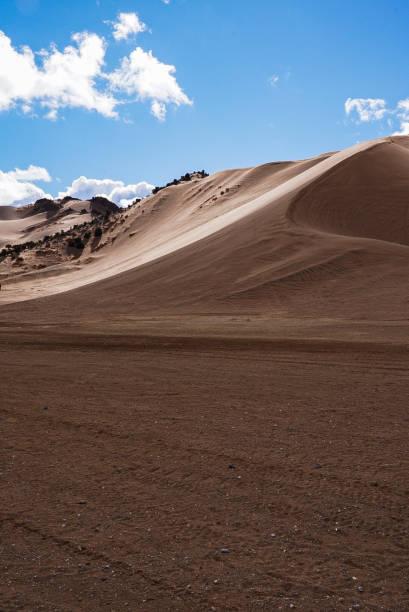 Scenic view of desert against sky,Utah,United States,USA