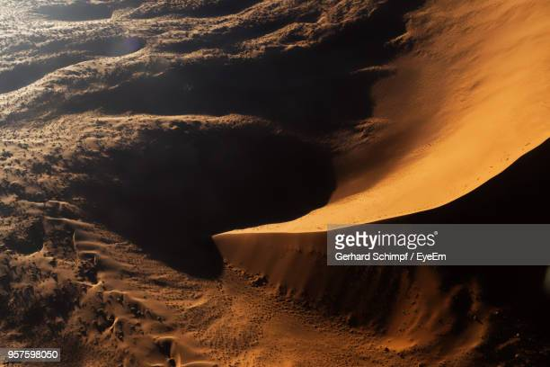 scenic view of desert during sunset - gerhard schimpf stock pictures, royalty-free photos & images