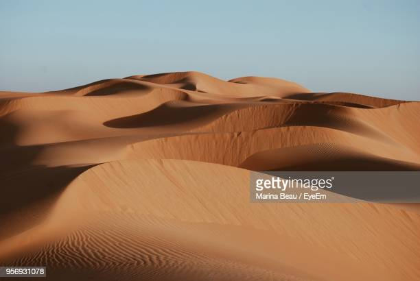 scenic view of desert - sand dune stock pictures, royalty-free photos & images