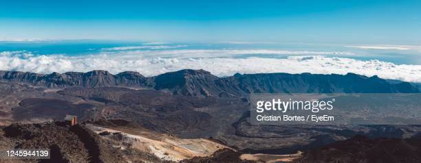 scenic view of dramatic landscape against sky - bortes stock pictures, royalty-free photos & images