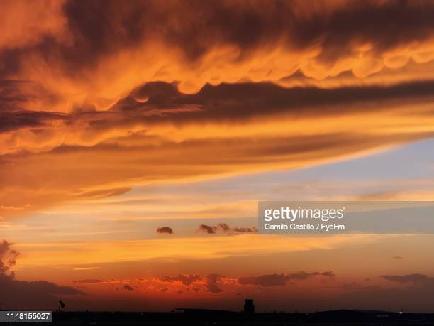 scenic view of dramatic sky during sunset - lubbock stock pictures, royalty-free photos & images