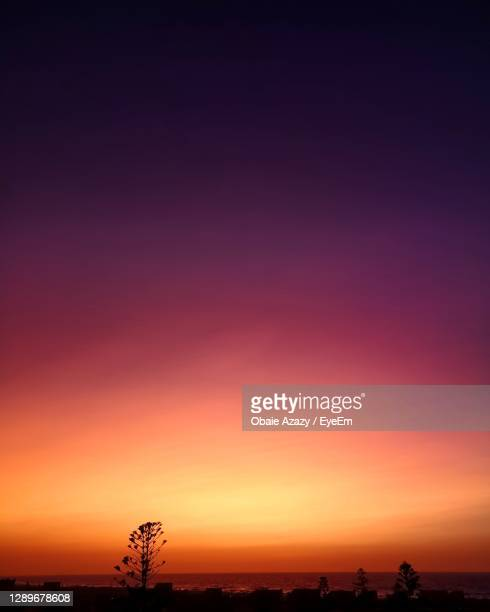 scenic view of dramatic sky during sunset - egypt stock pictures, royalty-free photos & images