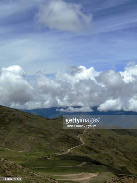 scenic view of field against sky - linda fraikin stock pictures, royalty-free photos & images