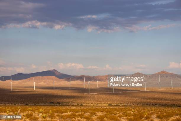 scenic view of field against sky - nevada stock pictures, royalty-free photos & images