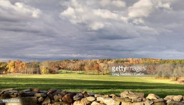 scenic view of field against sky - greg nadeau stock pictures, royalty-free photos & images