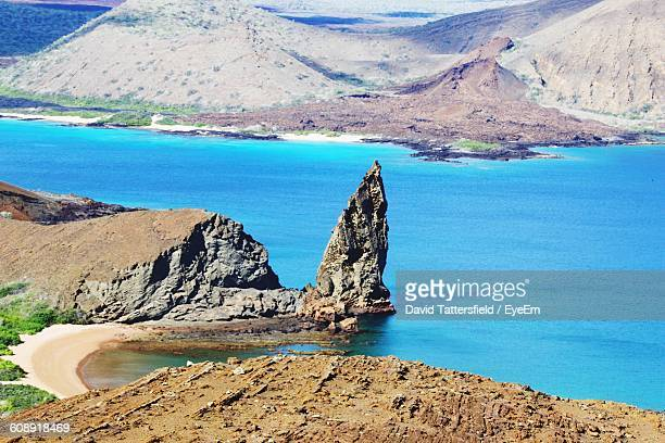 Scenic View Of Galapagos Islands