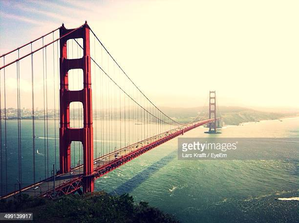Scenic view of Golden Gate Bridge