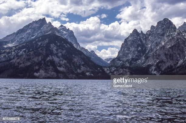 Scenic View of Grand Tetons and Jenny Lake