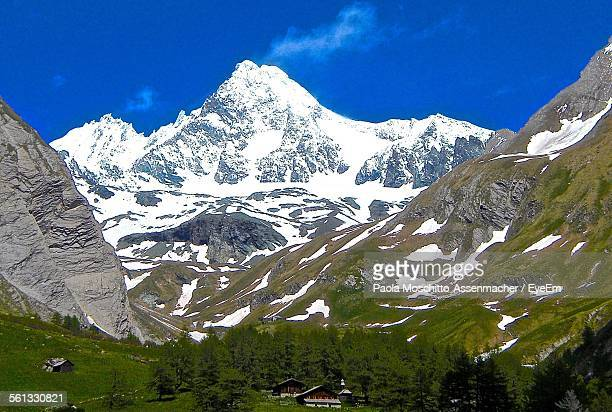 Scenic View Of Grossglockner Against Sky