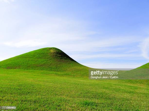 Scenic View Of Hill Against Sky