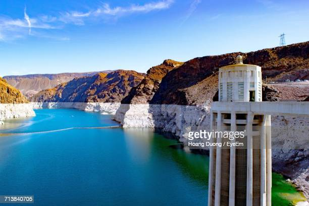 Scenic View Of Hoover Dam