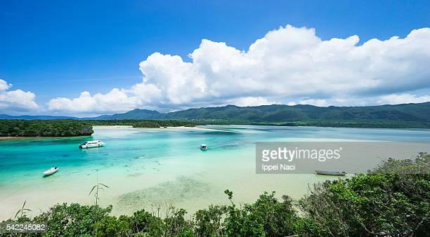 Scenic view of Ishigaki Island National Park, Japan