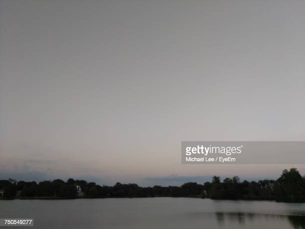 scenic view of lake against clear sky - baton rouge stock pictures, royalty-free photos & images