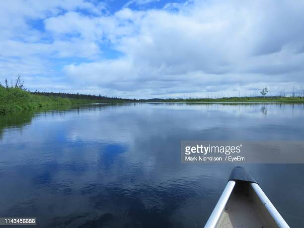 scenic view of lake against sky - mark's stock pictures, royalty-free photos & images