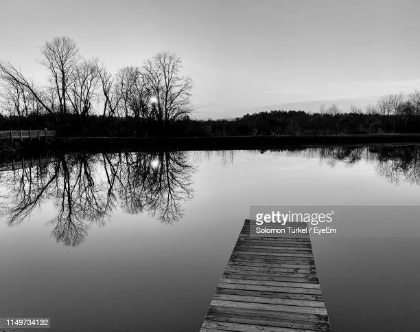 scenic view of lake against sky - solomon turkel stock pictures, royalty-free photos & images