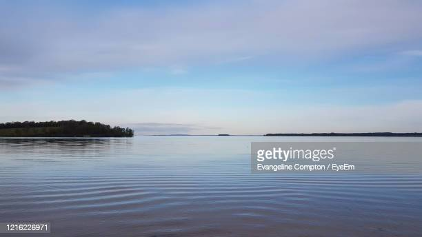 scenic view of lake against sky - forrest compton stock pictures, royalty-free photos & images