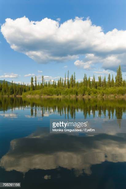 scenic view of lake against sky - monika gregussova stock pictures, royalty-free photos & images