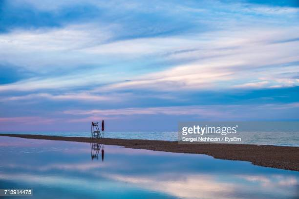 scenic view of lake against sky - sergei stock pictures, royalty-free photos & images