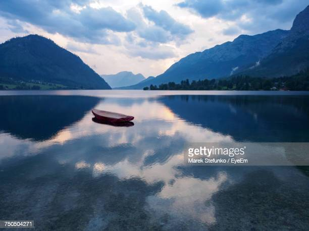 scenic view of lake against sky - marek stefunko stock pictures, royalty-free photos & images