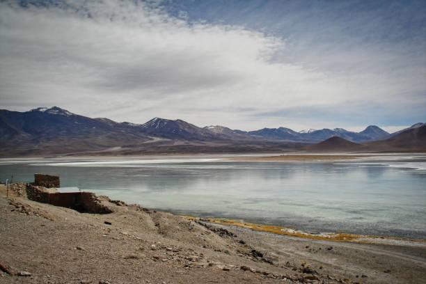 Scenic view of lake and mountains against sky,Reserva Nacional de Fauna Andina Eduardo Avaroa,Bolivia,Fauna Andina Eduardo Avaroa