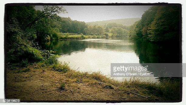scenic view of lake - fermoy stock photos and pictures