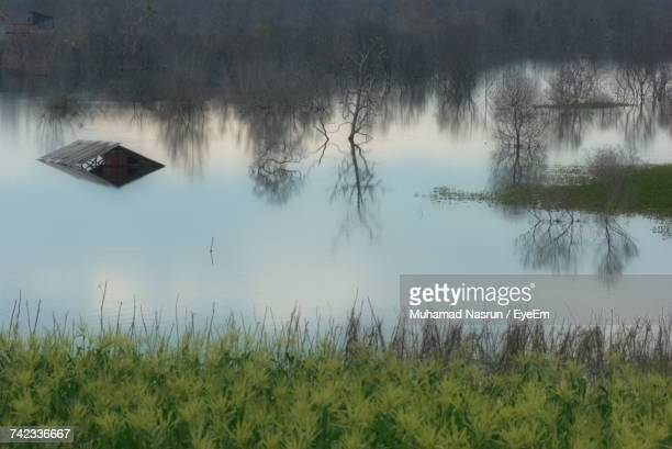 scenic view of lake - muhamad nasrun stock pictures, royalty-free photos & images